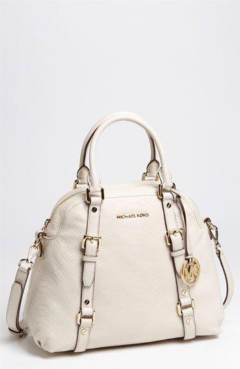 Michael Kors Bedford cream bag-gorgeous