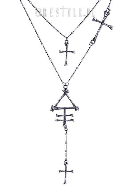 "RESTYLE ""PHOSPHORUS BONE necklace"""