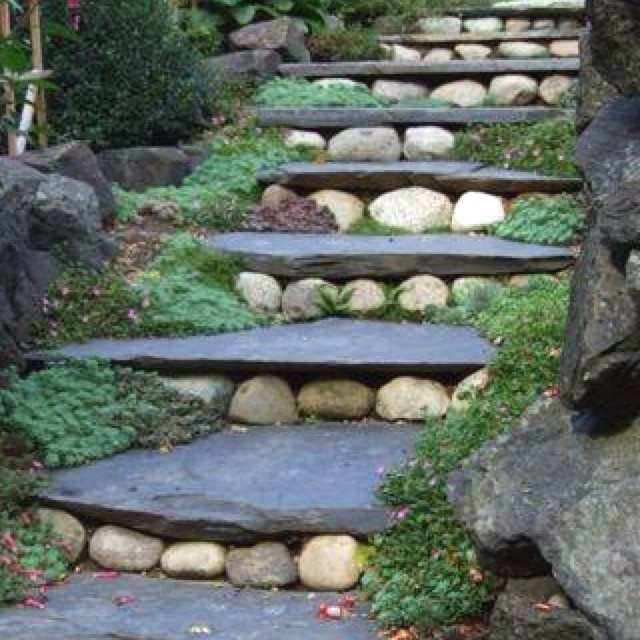 17 best Outdoor Steps images on Pinterest | Architecture, Gardens ...
