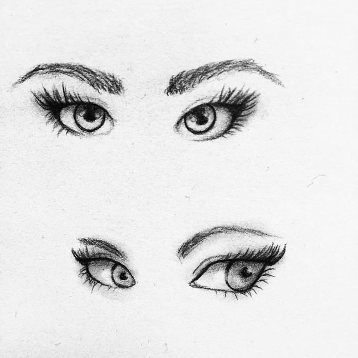 """Soulreflection (@soulreflection) på Instagram: """"Practicing drawing cartoony eyes! Would you like to see more practicing/work in progress posts? Let…"""""""