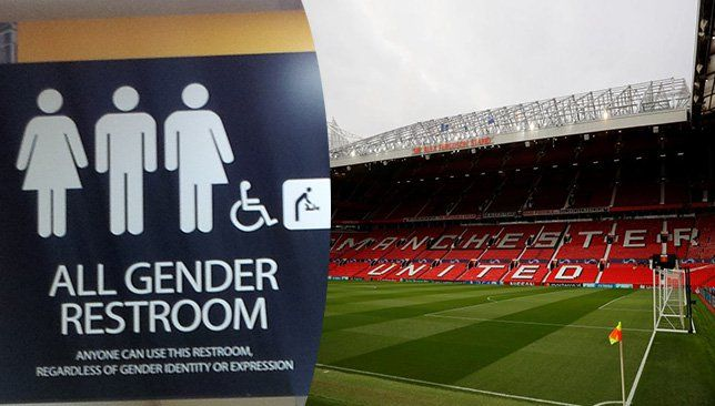 مانشستر يونايتد يوفر دورات مياه مشتركة في ملعب أولد ترفورد ذكرت صحيفة ذا صن البريطانية أن إدارة إستاد أولد ترافورد م All Gender Restroom Soccer Field Deny