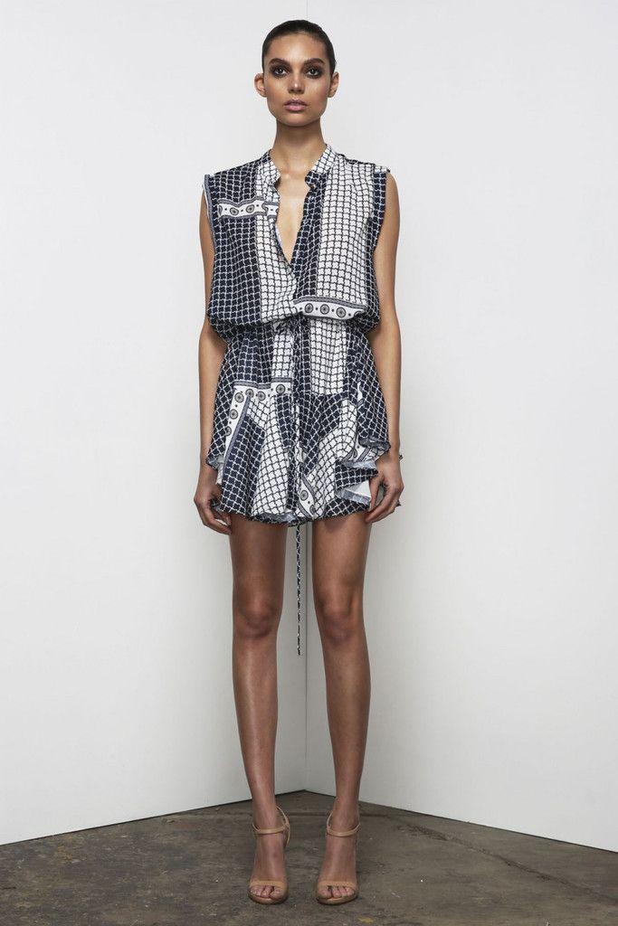 Shona Joy Meridian Drawstring Shirt Dress