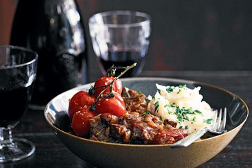 Oxtail, chorizo & red wine stew. Smoked paprika is awesome. I make this all the time.