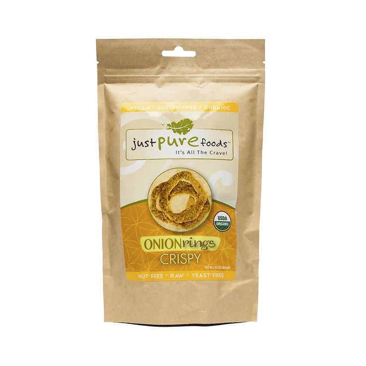 Shop Just Pure Foods Sprouted Crispy Onion Rings at wholesale price only at ThriveMarket.com