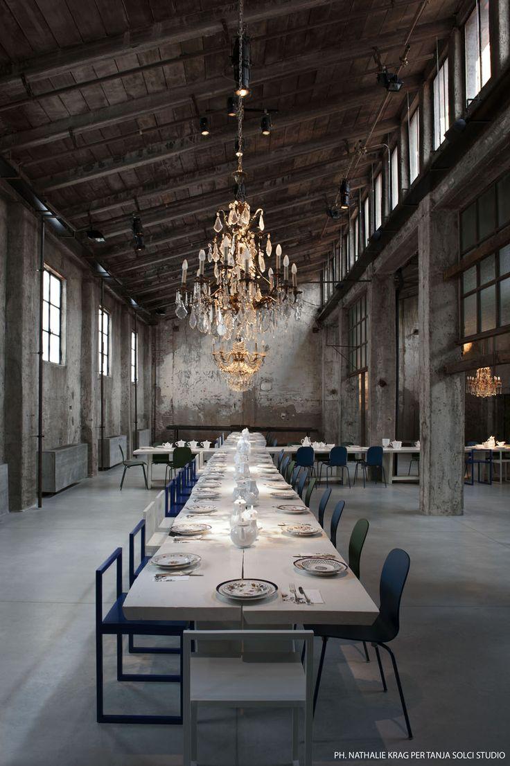 Restaurant théâtre milanais |MilK decoration