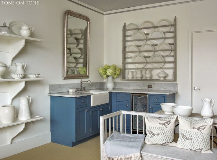 A Beautifully Styled Corner Of Tone On