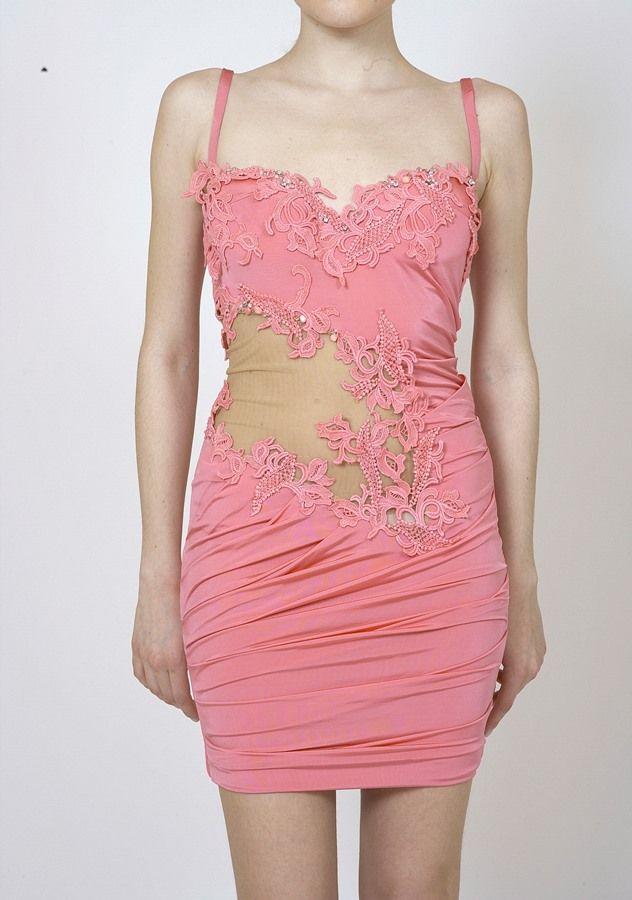 Mini Wedding Dress with Lace
