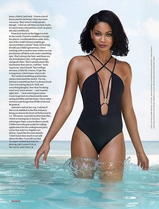 Chanel Iman (GQ South Africa)