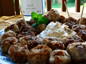 Ouzo-Spiked Pork And Beef Keftedes: Templates, Food Franchise, Beef Keftedes, Ouzo Spiked Pork, Greek Kitchen