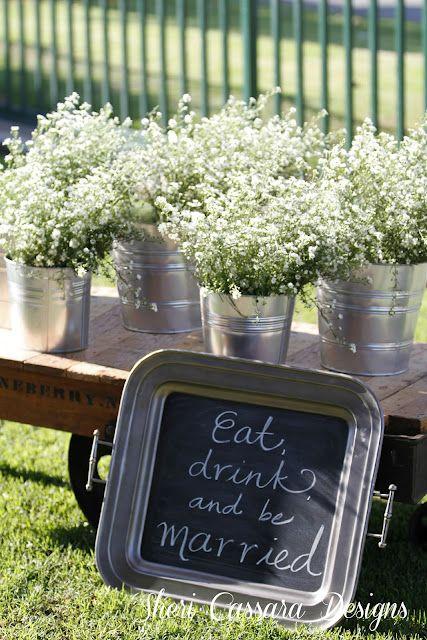 Sherri Cassara Designs: A charming Huntington Beach barn wedding on a budget
