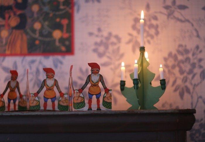 Gammeldags julepynt (innleggene før og etter dette er også veldig inspirerende).