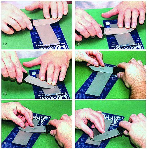 искусство заточки ножа