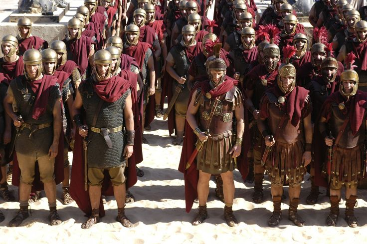 hbo rome generals and soldiers