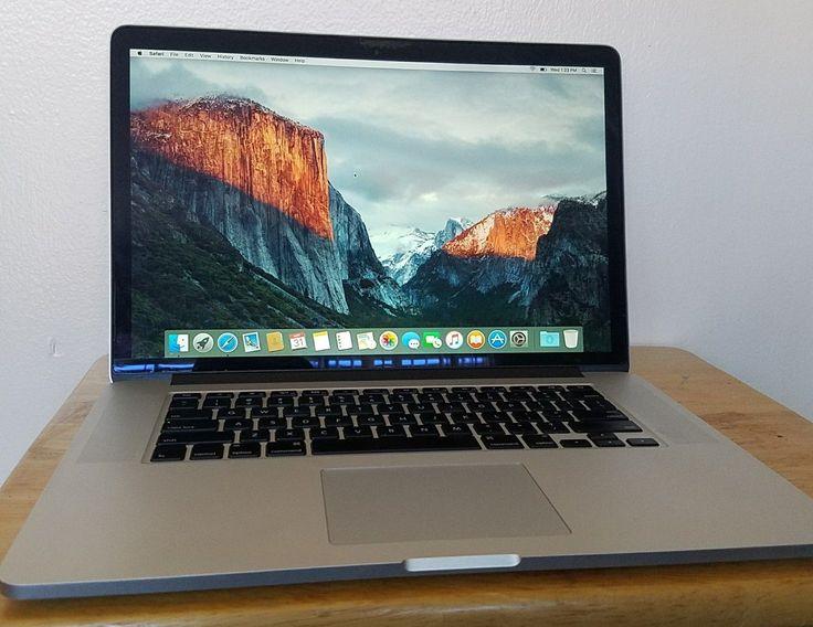 MacBook Pro 15 RETINA 2014 i7 2.8Ghz / 1 TB SSD / 16GB RAM / AppleCare
