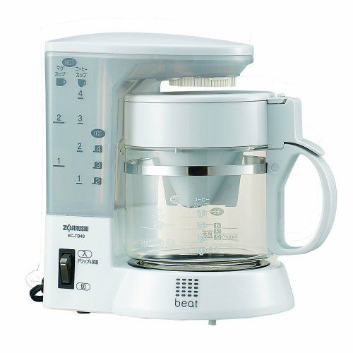 Amazon.com: Zojirushi Coffee Cup - Cup Coffee Maker Communication About 1-4 Herb Brown] Ec-tb40-td: Drip Coffeemakers: Kitchen & Dining
