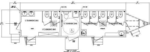Ada Bathrooms Codes Interior Design Styles Bathroom Layouts Foot Handicap Restroom Trailer Specifications Drawing