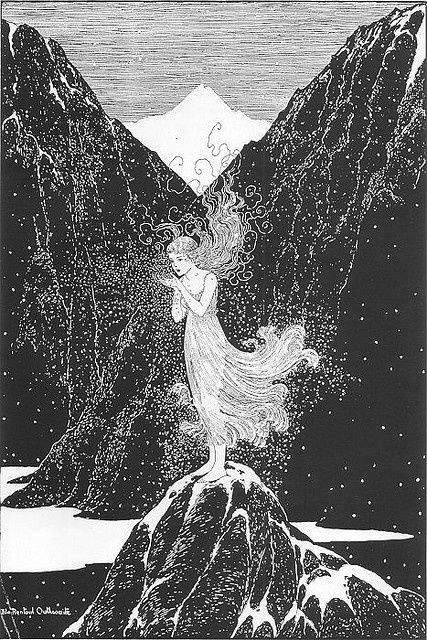 THE FAIRY OF THE SNOW BY IDA RENTOUL OUTHWAITE