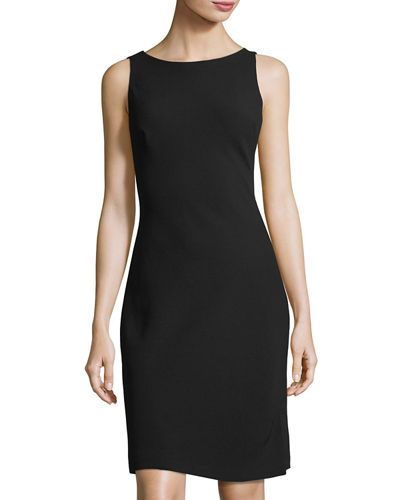 KARL LAGERFELD SHORT COCKTAIL DRESS W/ CONTRAST LINING. #karllagerfeld #cloth # – ModeSens