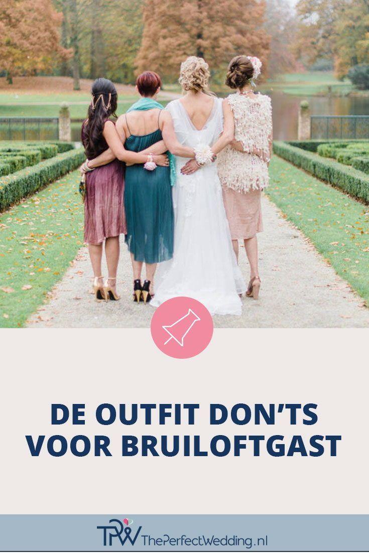 f34f9bd7c40d96 Outfit don ts voor de bruiloftgast