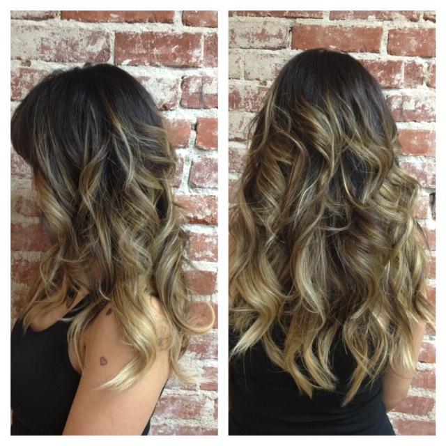 8 best hair images on pinterest make up blonde hair and hair color ashy blonde ombr peekaboo highlightshair pmusecretfo Gallery