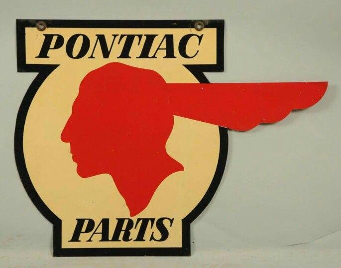 Laser Cut Metal Signs >> Porcelain Pontiac Parts Sign | Porcelain & Tin Signs ...