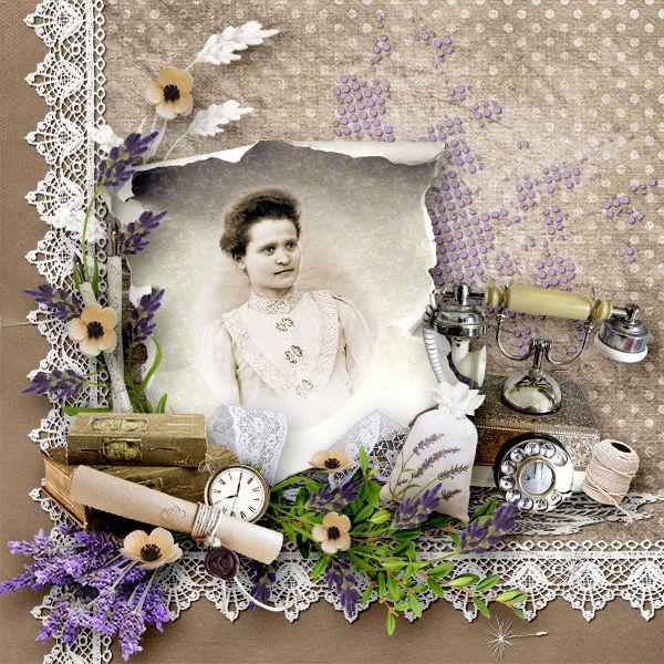 *Lavender and old laces* by Black Lady Designs https://www.e-scapeandscrap.net/boutique/index.php…