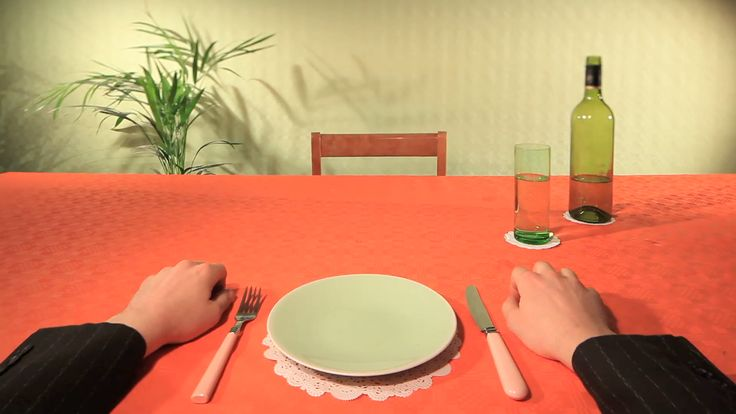 Still from 'No Frills' The 'Very Successful Advert' series. Written and directed by A Very Successful Business. A collection of spoof commercials for unsung food stuffs such as celery, clams, cress and figs. #art direction #comedy series #adverts #commercials #dill #nofrills #directors