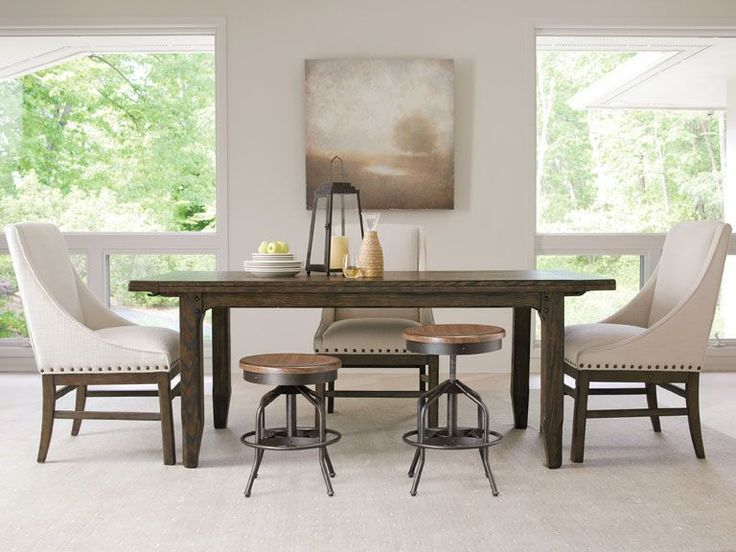 43 best dining images on pinterest dining tables side for Walter e smithe dining room sets