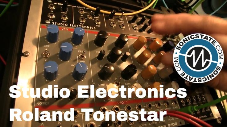 Studio Electronics add to their Tonestar range with the new Juno i/Roland inspired synth voice with a reverse engineered Roland filter.. http://www.studioele...