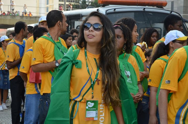 Volunteer of the World Youth Day