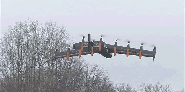 NASA's 10-Engine Drone-Copter Transforms in Mid-Flight