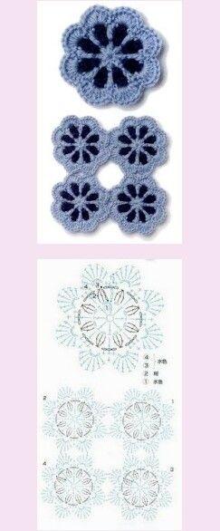 Crochet Motif Pattern Mais