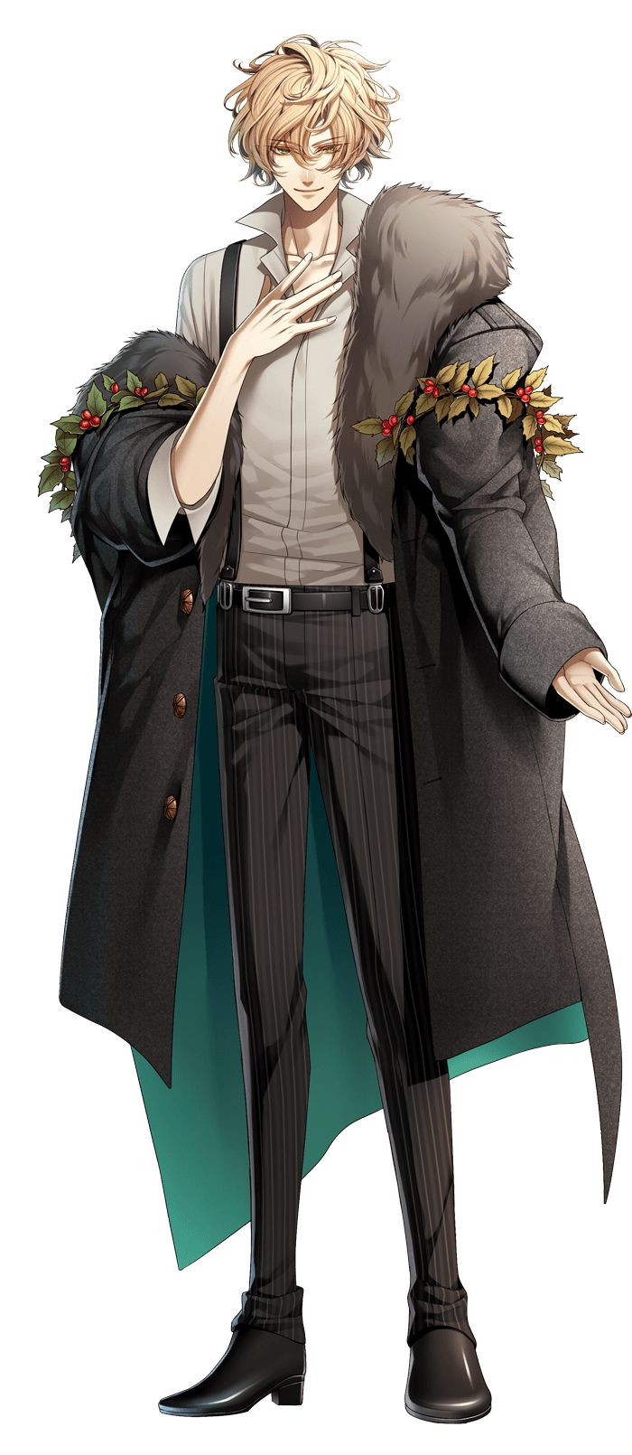 Luka (new character) Amnesia World otomegame Otome
