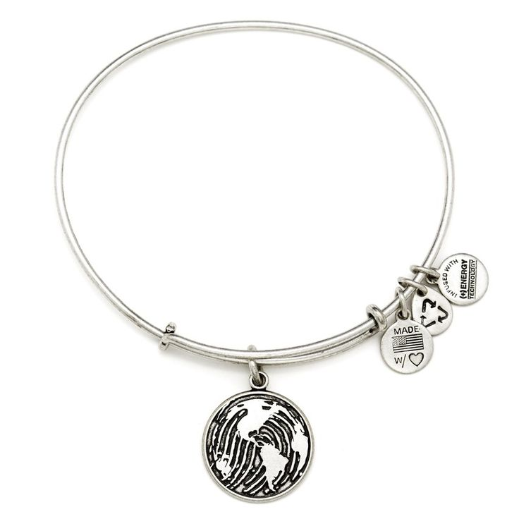 """Alex and Ani: Make Your Mark Charm Bangle """"You have the ability to leave a positive imprint on the lives of others.  Inspire others with thoughtful actions.  Discover your passions and act on them.  Lead a life you can be proud of."""""""