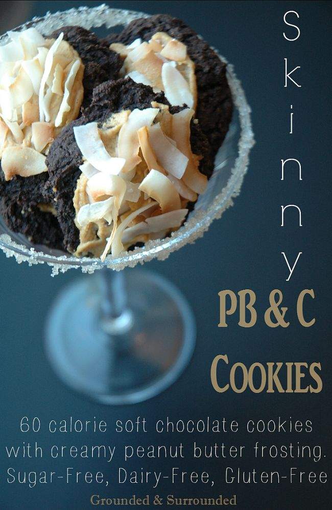Does anything get better than the simple combo of chocolate and peanut butter? This skinny, easy, and low calorie (60 calorie) recipe does not disappoint! Yet, they won't ruin your healthy clean eating goals. These are the best gluten free, dairy free, & no sugar (refined sugar free) cookies on Pinterest!