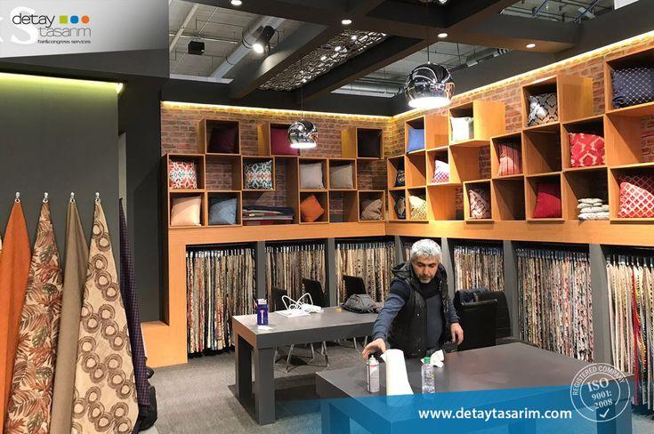 Marsteks / Heimtextil 2018 Frankfurt - Germany  /  www.detaytasarim.com / #fair_stand #turkey_fairs #stand #exhibition #icvbmember #heimtextil #textile_fair