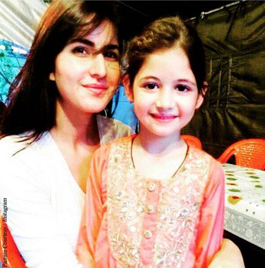 Katrina Kaif and Harshali Malhotra Clicked Pic Together