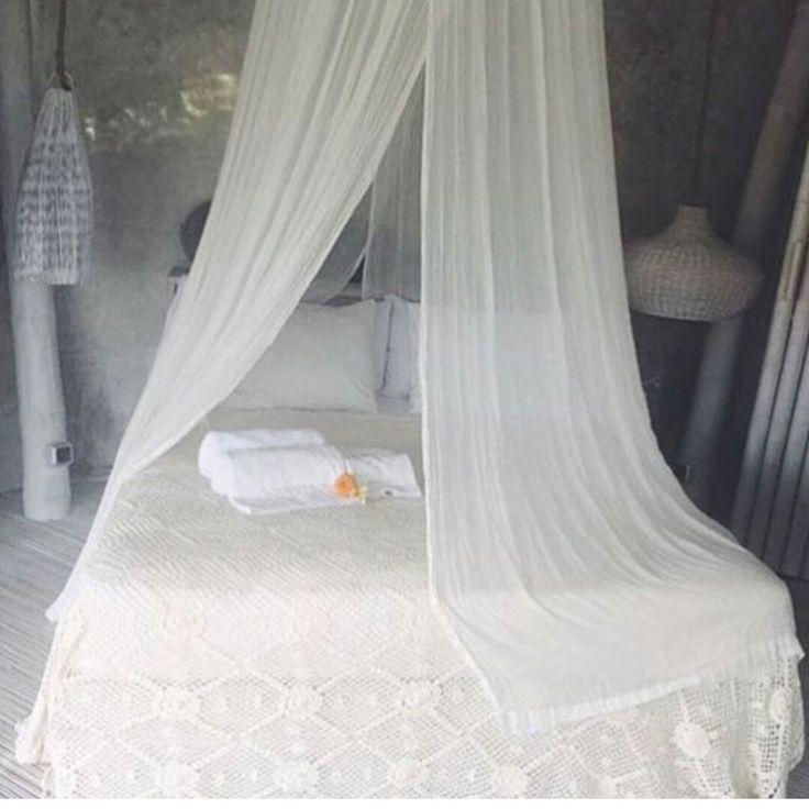 My kinda bedroom. Shop our handmade crochet bedspreads