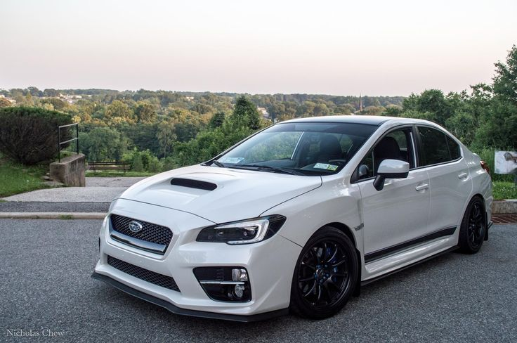 Clean Looking White Subaru WRX 2015 w/ Nice Alloy Rims Check it Out! | Subie Gallery