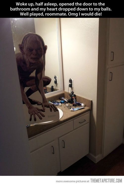 funny prank  ill need to remember for april fools. 172 best Roommate Pranks images on Pinterest   Roommate pranks