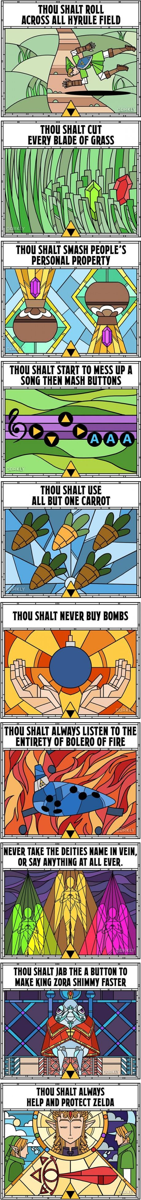 10 Commandments Of Ocarina Of Time