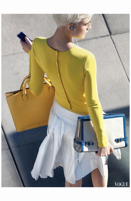 Jana Knauerova Britt Maren Vogue, February 2011 Raymond Meier b