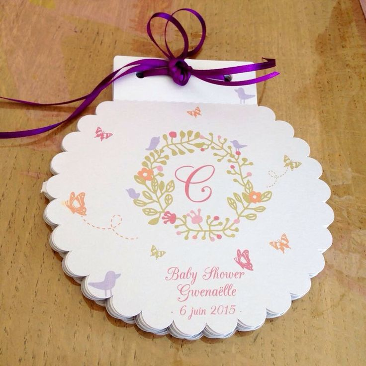 Livre d'or baby shower collection