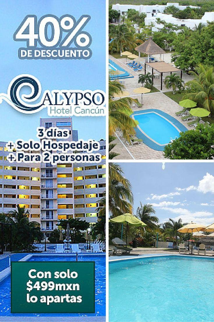 Viaja a Cancún y quédate en este #hoteleconómico en la Zona Hotelera. Tiene piscina y club de playa en Mandala Beach.