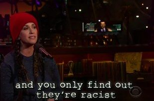 """The new lyrics hit all of the MAJOR modern-day struggles. Like an old friend sending you a Facebook request…   Alanis Morissette Updated The """"Ironic"""" Lyrics With Modern Struggles And It's Hilarious"""