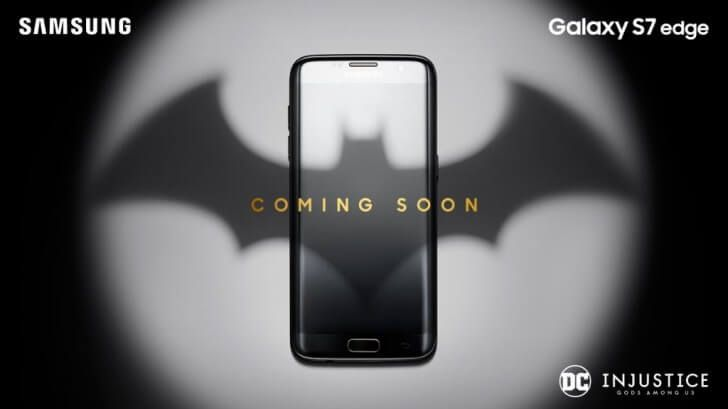 Samsung Galaxy S7 Edge Batman-Edition angekündigt