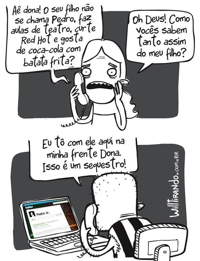 Satirinhas - Quadrinhos, tirinhas, curiosidades e muito mais! - Part 123