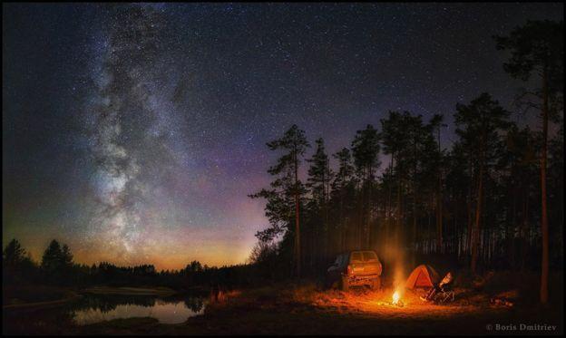 Nice  De auroras boreais a constelações: as impressionantes imagens de concurso fotográfico de céus noturnos - BBC Brasil