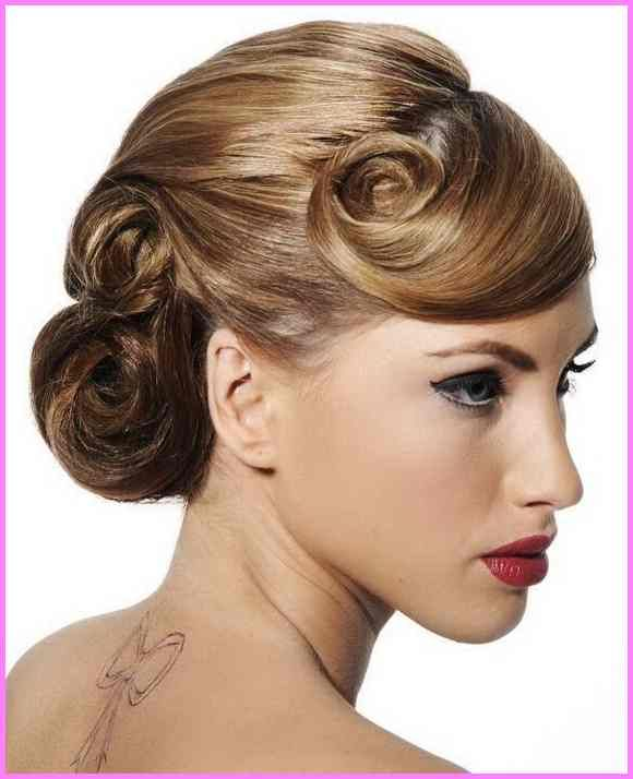 Pin Curl Updo 1930s Inspiration 1930s Hairstyles For Fashion