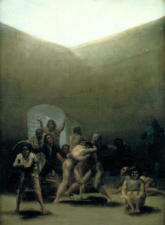 Quintal com Lunáticos - Goya, Francisco e suas pinturas ~ Foi um importante pintor espanhol da fase do Romantismo
